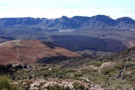 Abstieg vom Pico del Teide - Teide Nationalpark