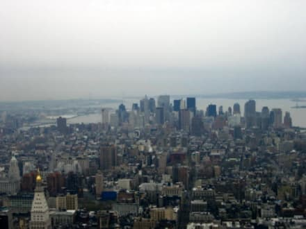 Blick vom Empire State Building - Empire State Building