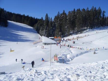 Eiszapfen - Skigebiet Muggenbrunn