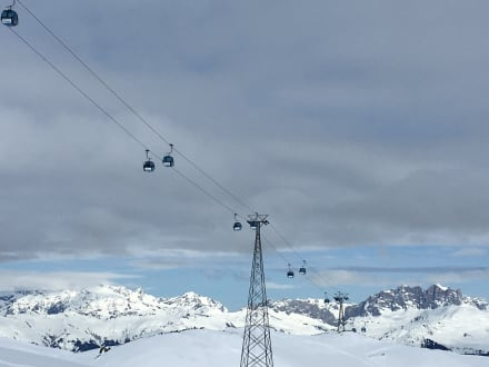 Gebirge - Skigebiet Davos