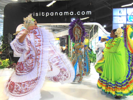 Mix aus Panama und Dom-Rep - ITB - Tourismuss Messe