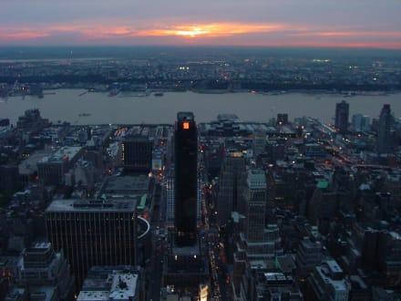 Manhattan Sonnenuntergang - Empire State Building