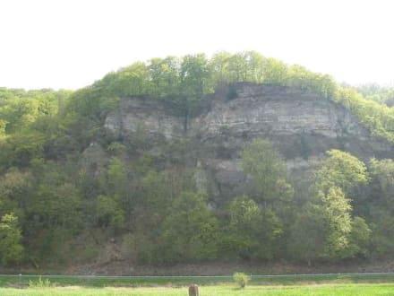 Der Breitenstein bei Rühle - Weserbergland