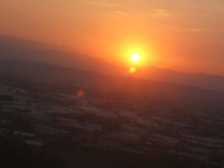 Sonnenuntergang - Flughafen Antalya (AYT)