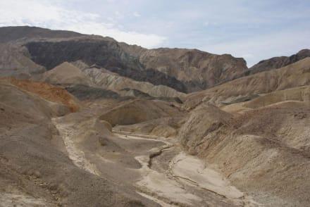 Twenty Mule Team Canyon - Death Valley