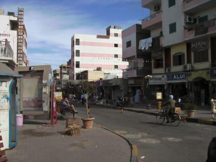 Einkaufsstraße - Zentrum Hurghada