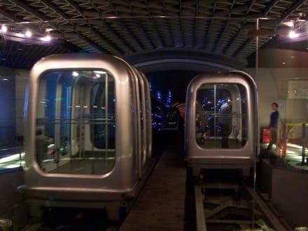 Gondel - Fußgänger-Tunnel Bund-Pudong