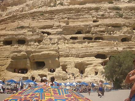 hippiehöhlen von matala - Höhlen von Matala