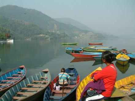 Pokhara - Phewa-See