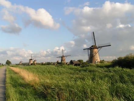 Poldermühlen - UNESCO World Heritage Kinderdijk