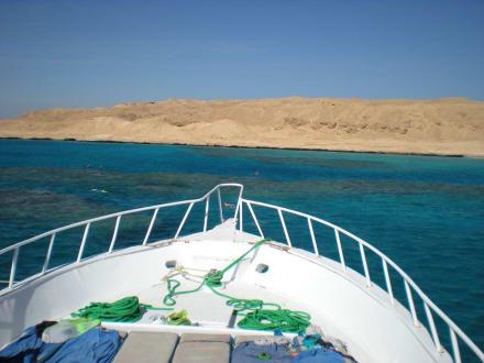 Blick nach Vorn - Giftun / Mahmya Inseln