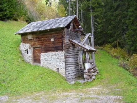 Mühle - Wandern St. Vigil in Enneberg