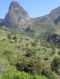 Roque de Agando - Tal von Benchijigua