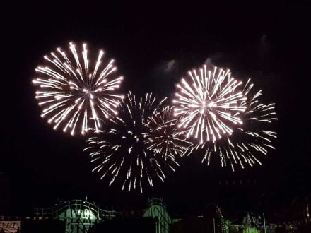 Das Eröffnungsfeuerwerk - Herbstvolksfest
