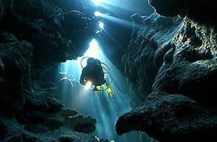 """Der """"Canyon""""   in Dahab - Blue Hole"""