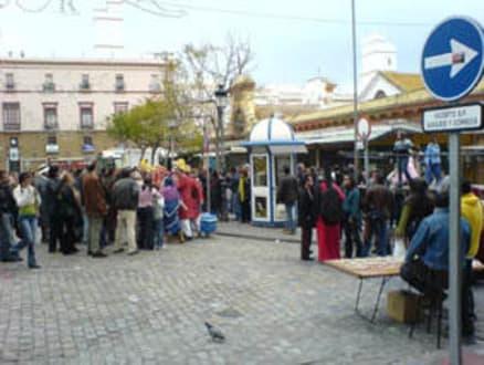 Cadiz im Carnaval - Mercado Central