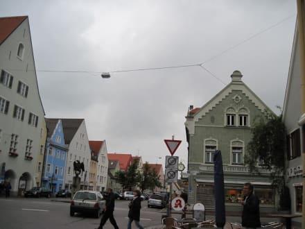 Marienplatz mit Ballenhaus - Marienplatz
