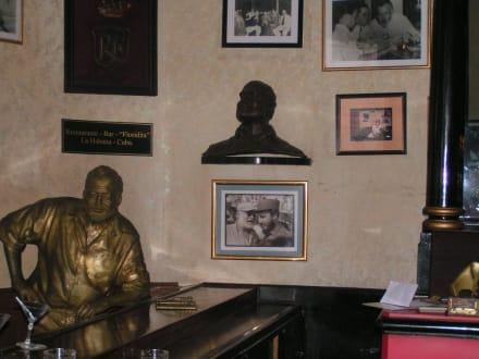 Ernest Hemingway - Floridita Bar und Restaurant