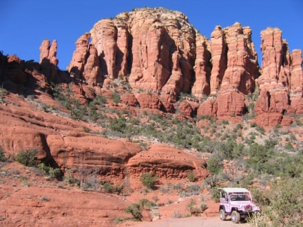 Pink Jeeps: Broken Arrow-Tour - Jeep Safari Sedona