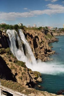 Unterer Düden - Unterer Düden Wasserfall / Karpuzkaldiran Şelalesi