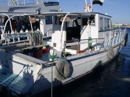 Naama Bay Bootsanlegestelle - Strand Naama Bay