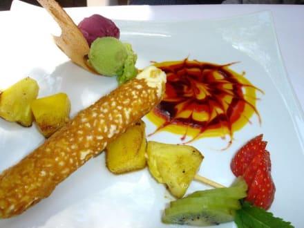 Dessert im La Bouille - Restaurant La Bouille