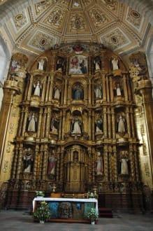 Retra Tabulus in einer Kirche - Tempel de Santo Domingo de Guzmán