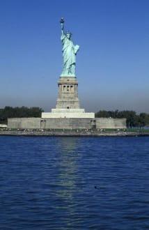 NY im November 2000 - Freiheitsstatue