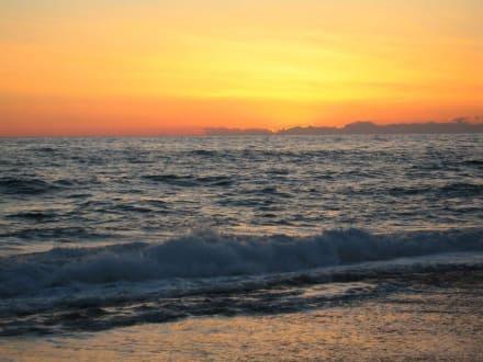 Wunderschöner Sonnenuntergang - Strand Kleopatra/Strand Damlatasch
