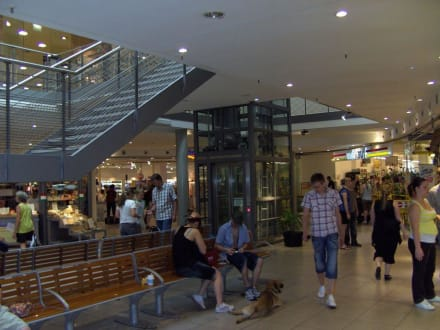 Detailansicht, innen - Halle (Saale) Hauptbahnhof