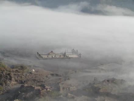 Tempel - Bromo Vulkan