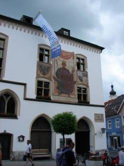 Rathaus in Murnau - Altstadt Murnau am Staffelsee