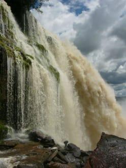 Die Wasserfälle - Wasserfälle von Canaima - Salto Sapo