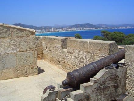 Strand Cala Millor vom Castel aus - Naturschutzgebiet Punta de n'Amer