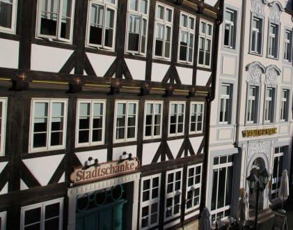 Stadtschänke Bild Marktplatz In Hildesheim