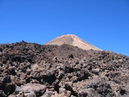 Abstieg vom Teide - Teide Nationalpark