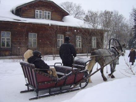 Winterimpressionen Maslenitza - Maslenitza (Butterwoche)