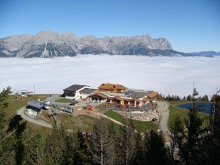 Hartkaiser Bergstation und Panoramarestaurant - Hartkaiser
