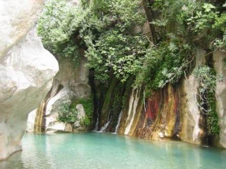 Wasserfall im Canyon von Göynük - Schlucht von Göynük / Göynük Canyon Park