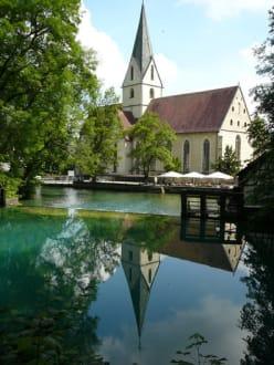 Blautopf mit Klosterkirche! - Blautopf