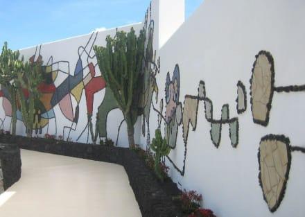 Ein Manrique-Mosaik - Fundacion Cesar Manrique