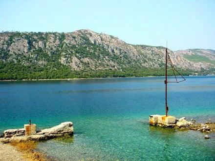 Einmündung zum Blauen See - Blauer See