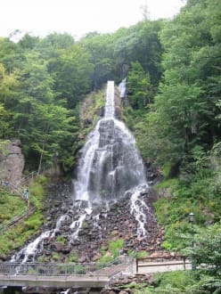 Ausflug zum Trusetaler Wasserfall - Trusetaler Wasserfall