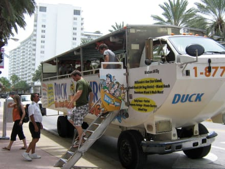 Other people - Miami Duck Tours