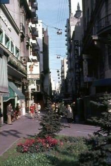 Die Einkaufsstraße Florida - La Florida - Einkaufsstraße