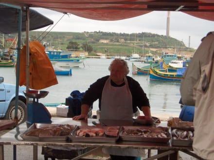 Fischmarkt - Fischmarkt Marsaxlokk
