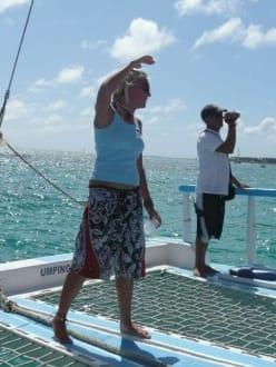 Reiseleiterin Alex - Katamaran Tour Tropical Storm Punta Cana