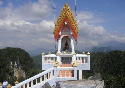 Der kleinere Teil des Tempels - Tiger Cave Tempel (Wat Tham Sua)