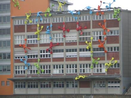 Gebäude im Medienhafen - MedienHafen Düsseldorf