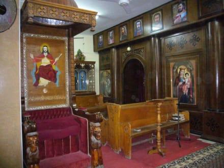 In der Koptischen Kirche - Stadtrundgang Hurghada